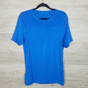 Patagonia Blue  workout t shirt Size S